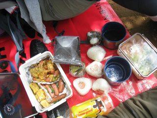 高尾山のお弁当