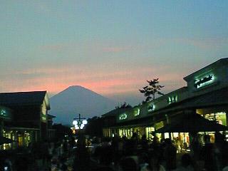 御殿場夕焼け富士